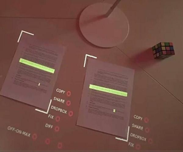 Lampix Tabletop AR System