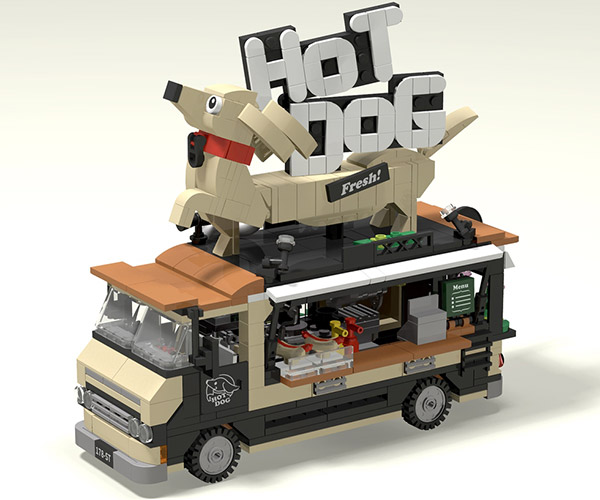 LEGO Hot Dog Truck