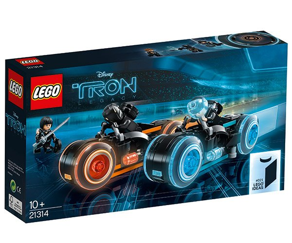 LEGO x TRON Legacy Light Bikes