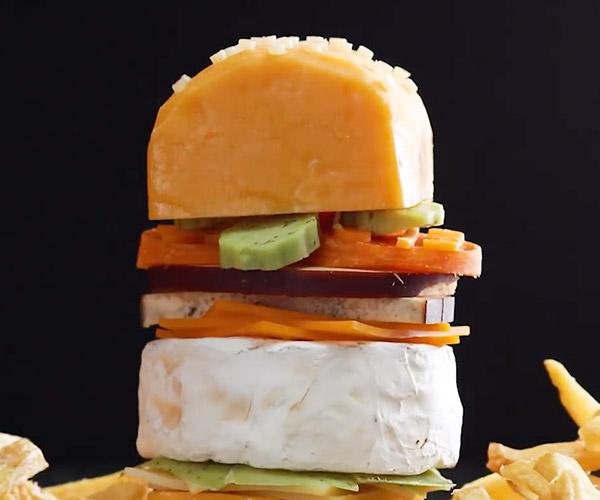 A Literal Cheeseburger