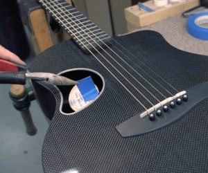 Making Carbon Fiber Guitars