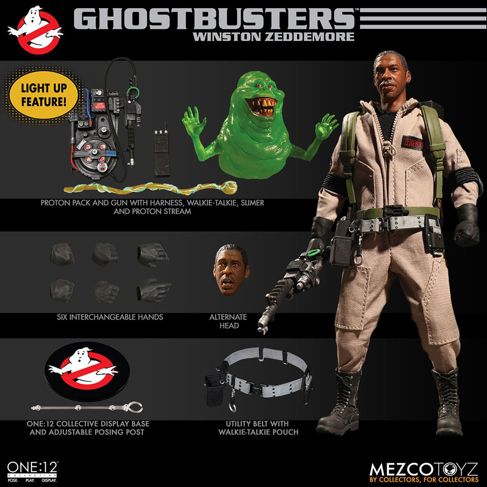Mezco Ghostbusters Deluxe Box Set