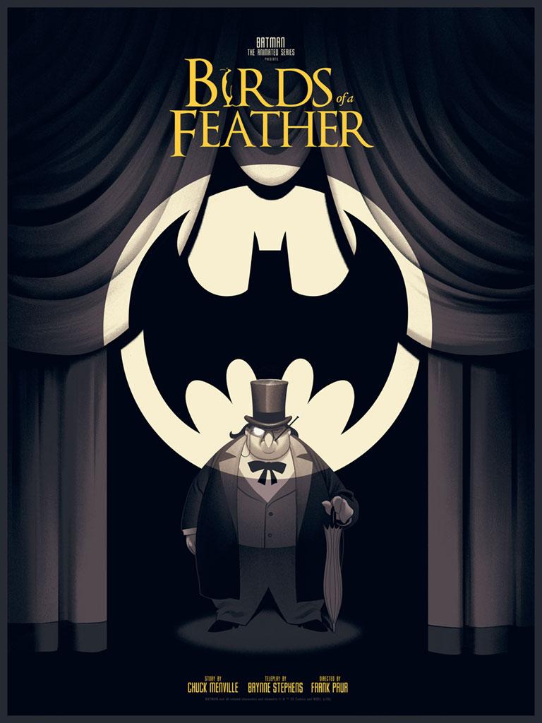 Mondo x Batman Animated Posters