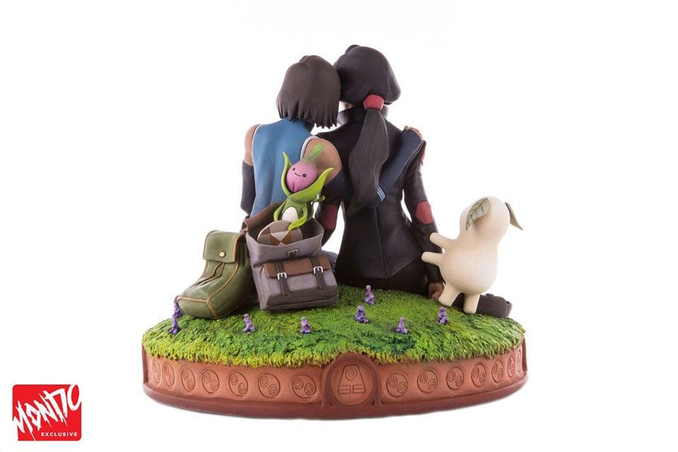 Mondo Korra & Asami Statue