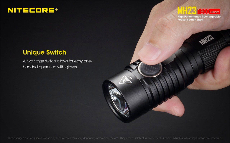 Nitecore MH23 Tactical Flashlight