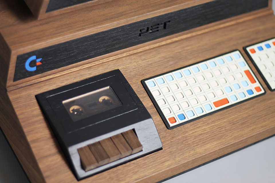 PET De Lux Retro Console