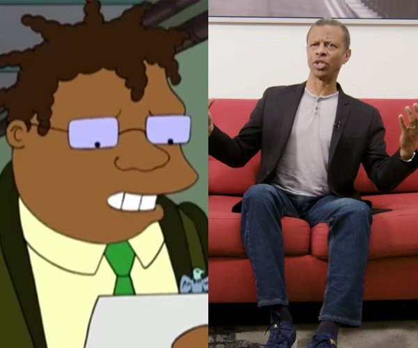 Phil LaMarr: Cartoon God
