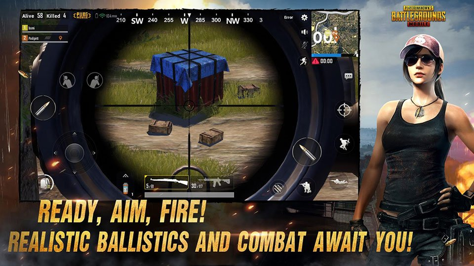 Pubg Gameplay On Line: The Survival Action Game Playunknown's Battlegrounds Is