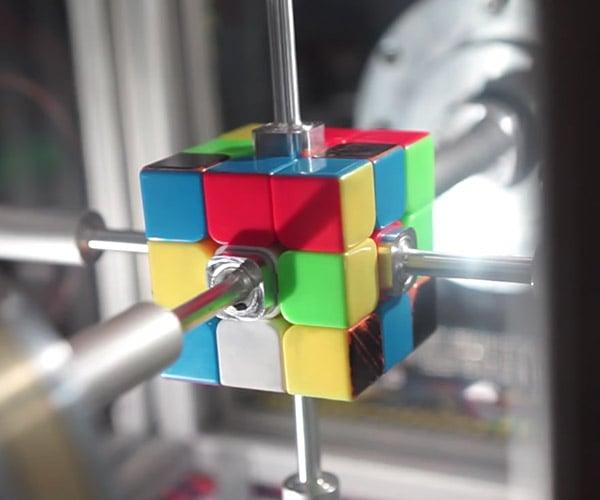 Rubik's Solving Robot