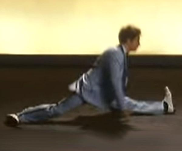 Sam Rockwell's Dancing Screen Test