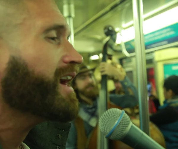 Somebody to Love on the Subway