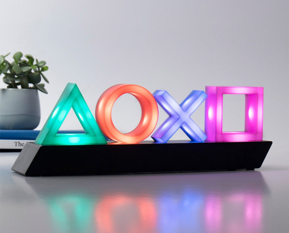 Sony PlayStation Icon Lamp