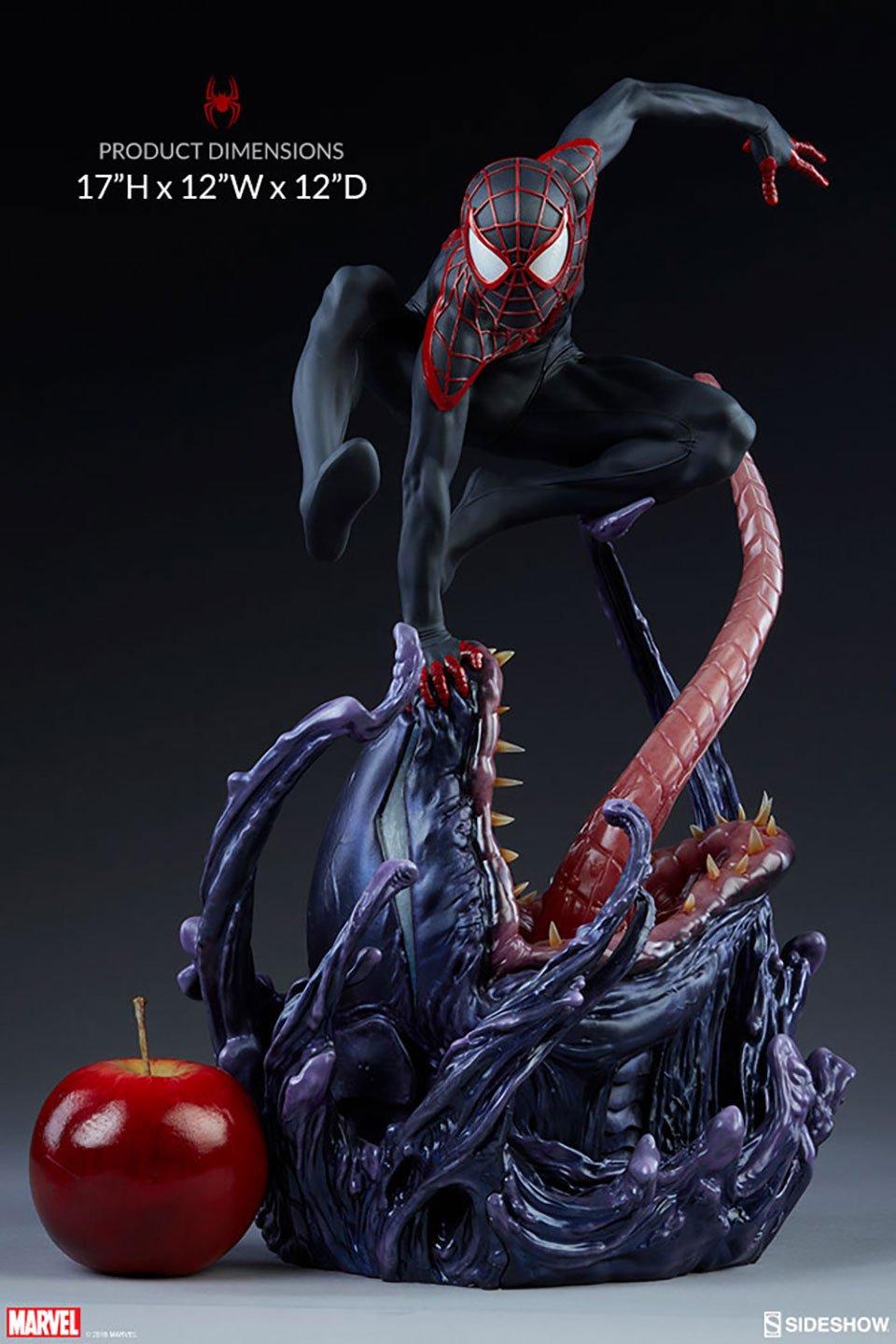 Spider-Man Miles Morales Statue