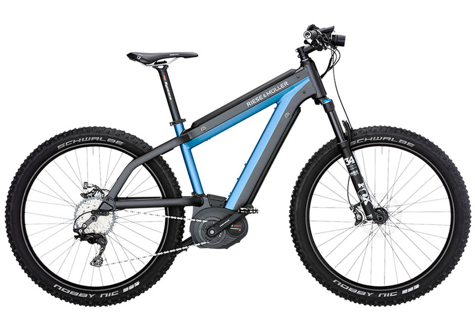 Supercharger Mountain E-Bike