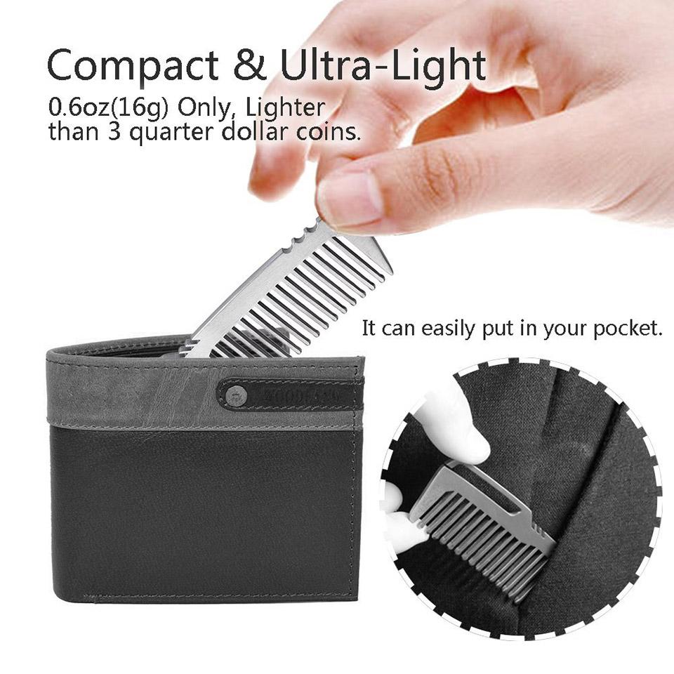 TI-EDC Titanium Comb