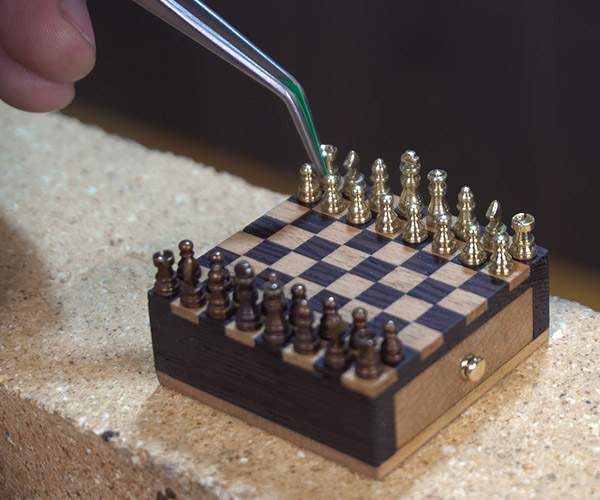 Making a Micro Chess Set