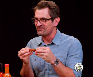 Ty Burrell vs. Hot Wings