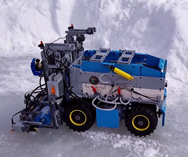 Working LEGO Zamboni