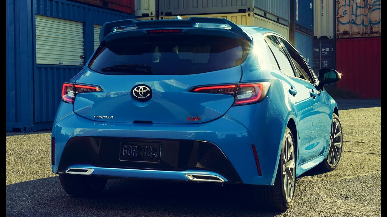 the toyota corolla hatchback is back for 2019 and it. Black Bedroom Furniture Sets. Home Design Ideas