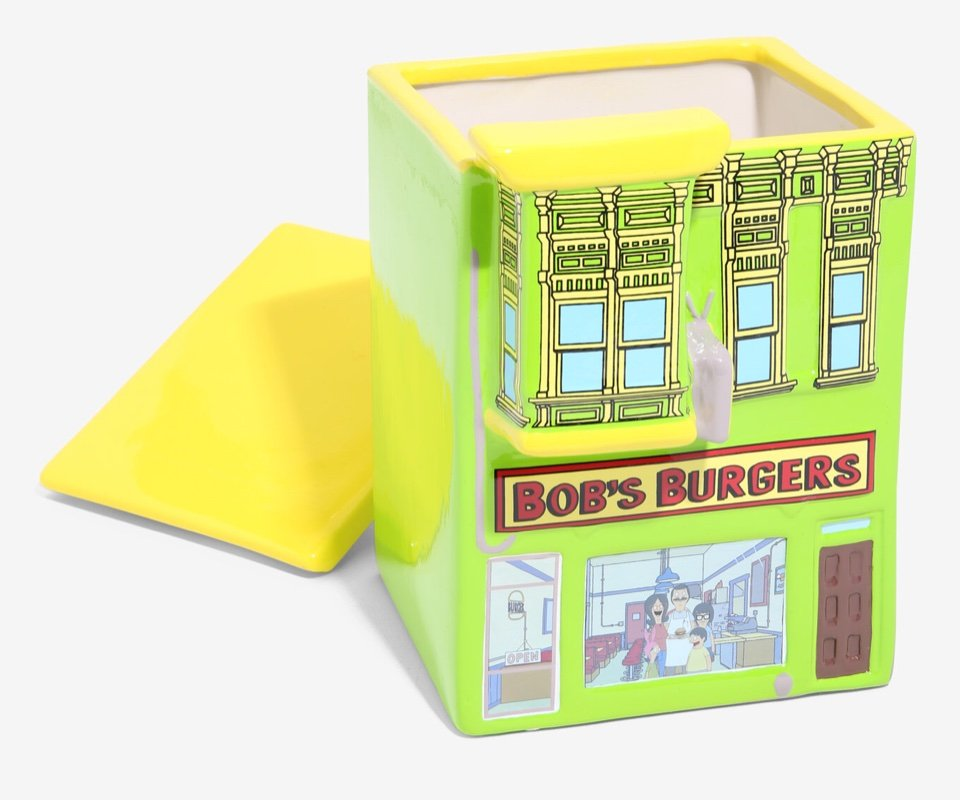 Bob's Burgers Cookie Jar