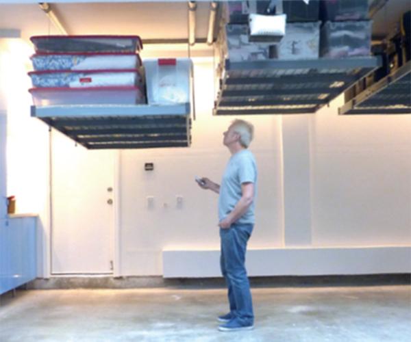 Auxx-Lift Motorized Storage System