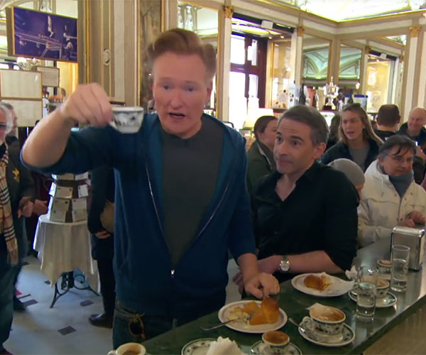 Conan & Jordan Get Coffee in Italy