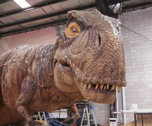 Robot Dinosaur Factory