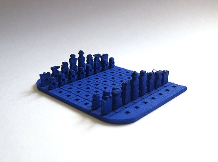 Credit Card Chess Set