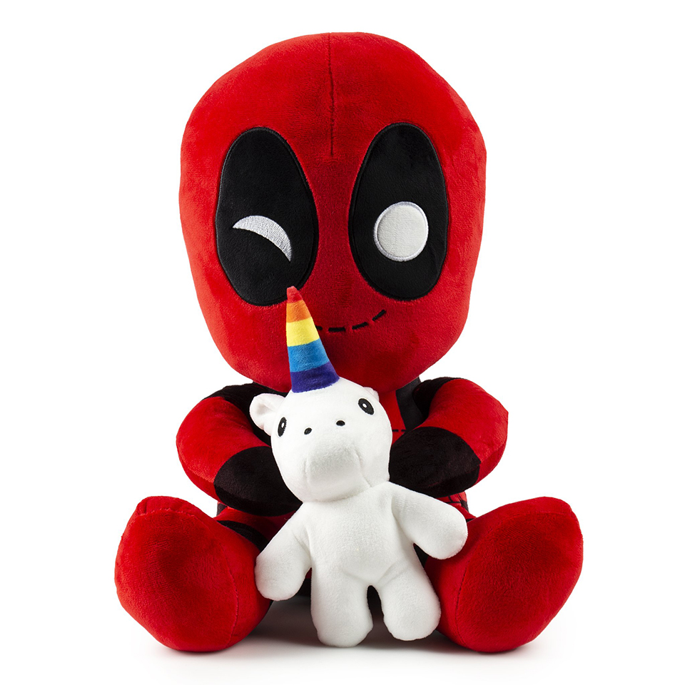 Deadpool & Unicorn Vibrating Plushie