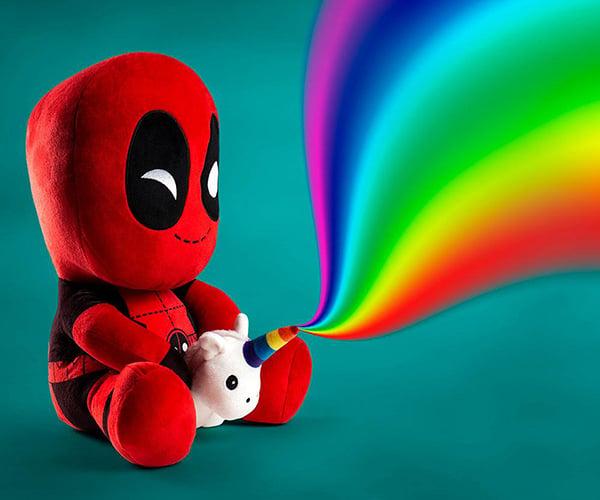 Deadpool & Unicorn Vibrating Plushie