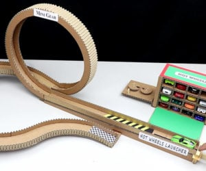 DIY Cardboard Hot Wheels Loop