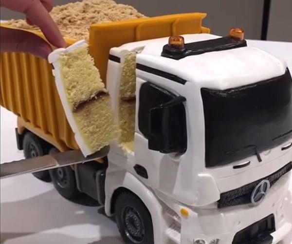 Edible R/C Dump Truck