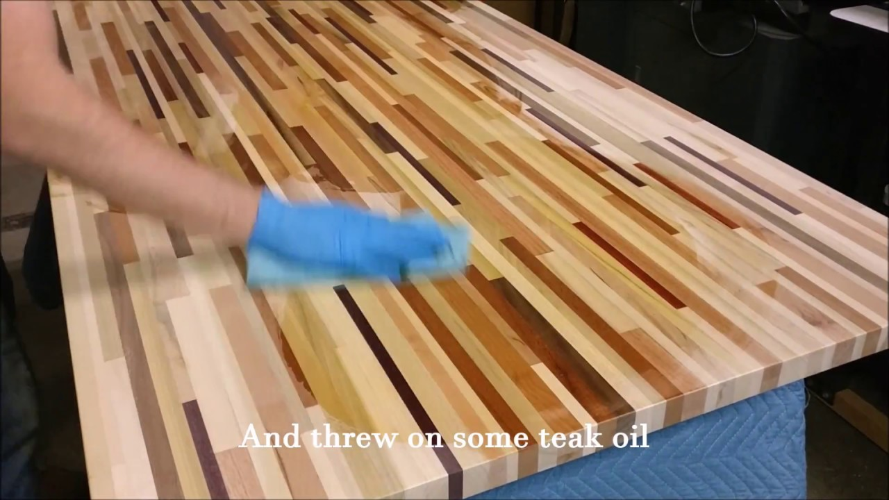 Making A Beautiful Tabletop From Scrap Wood Pieces
