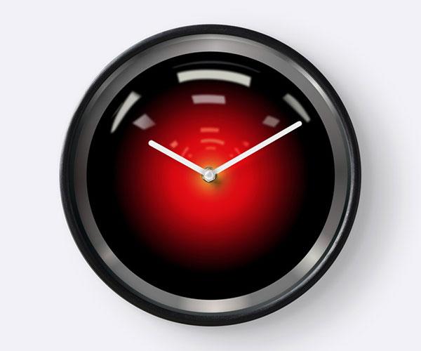 HAL 9000 Wall Clock