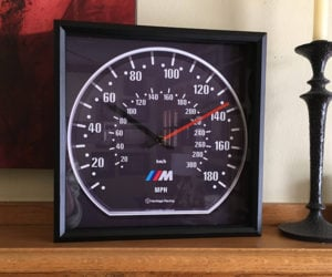 Heritage Racing Speedometer Clocks