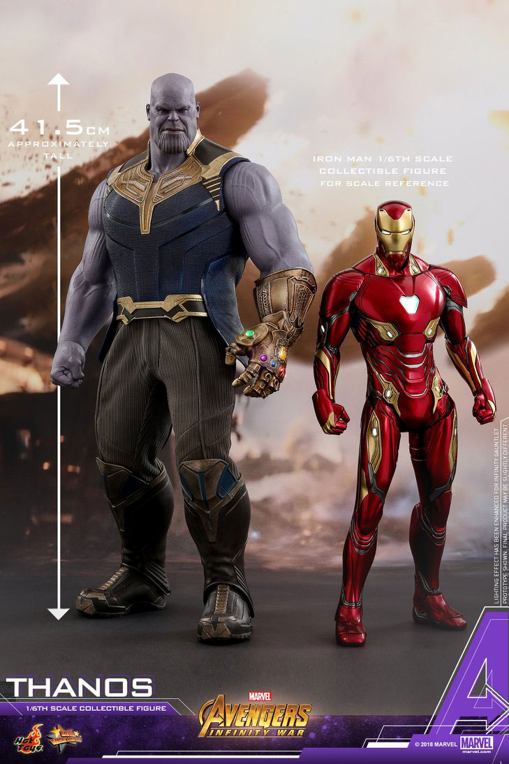 Hot Toys Thanos Infinity War Figure
