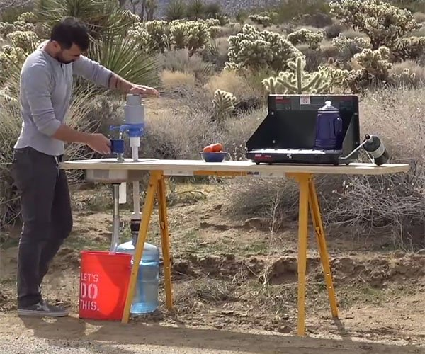How to Make a Portable Tiny Kitchen
