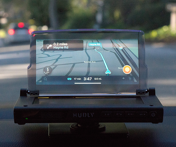 Hudly Wireless Heads-up Display
