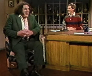 Letterman Interviews André the Giant