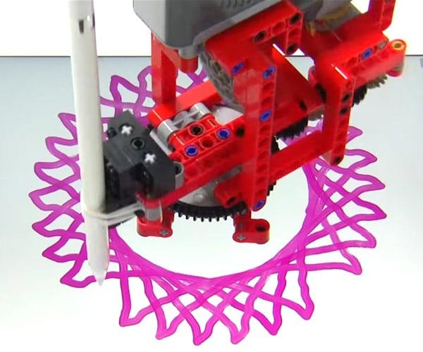 iPad LEGO Spirograph