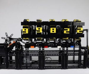 LEGO Ball Counting Machine