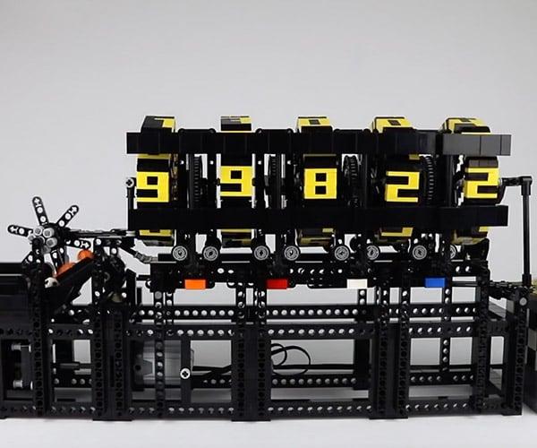 LEGO Ball Counting Machine