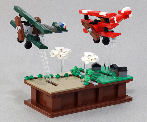 LEGO Kinetic Flight Sculptures