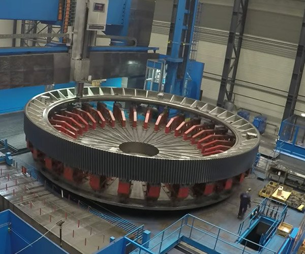 Machining a Giant Gear