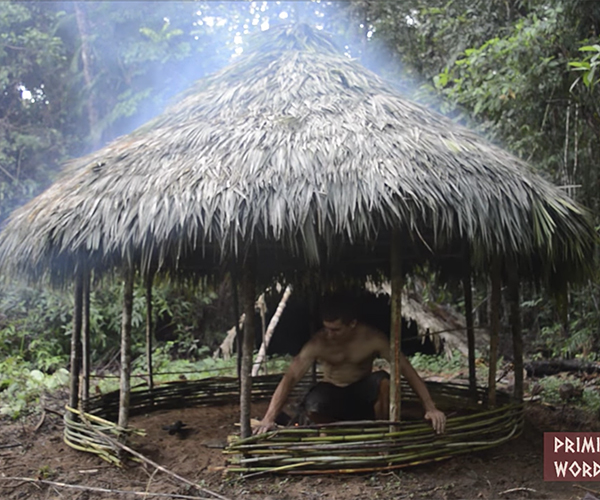 Building a Round Hut