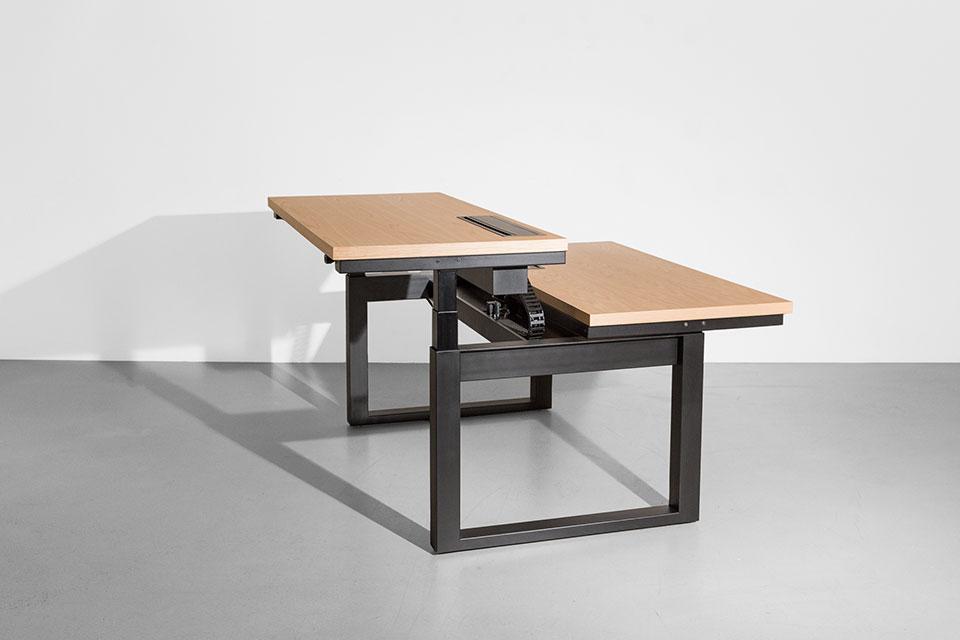 Minim Rise Dual Desk