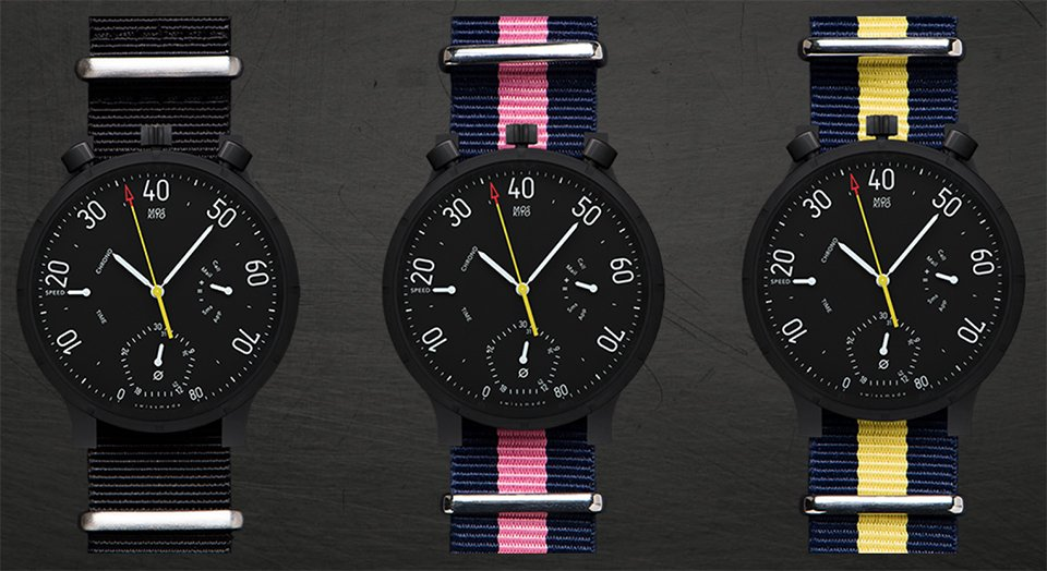 Moskito Speedometer Watch