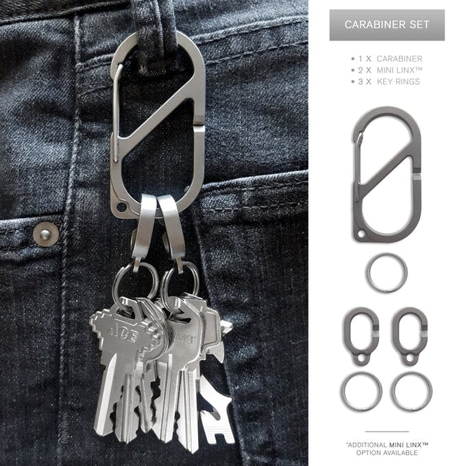 MSTR Linx Key Rings