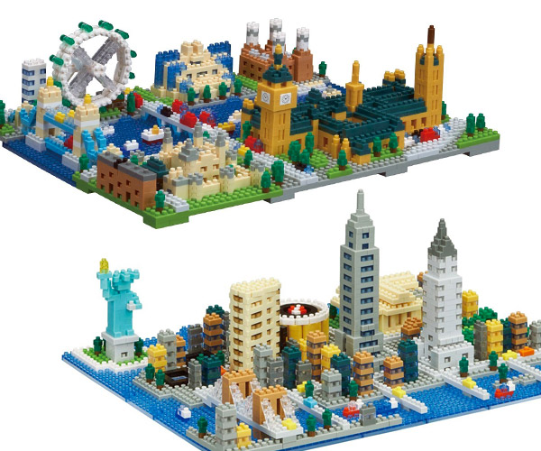 Nanoblock Cities