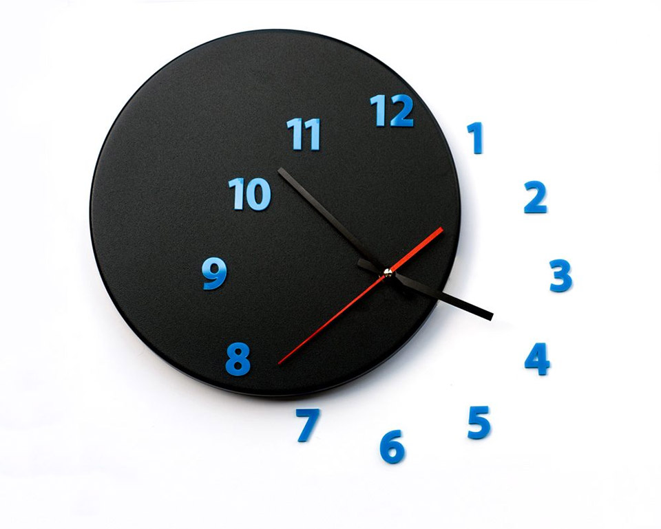 Out of Time Wall Clock